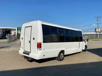 Global Motor Coach Presents this 2015 Krystal Ford E450  Shuttle Bus full