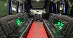 2018 Global Motor Coach Ford E450 Limo Bus