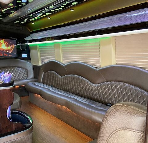 Global Motor Coach Presents this 2016 Mercedes Sprinter 3500 by ECB full