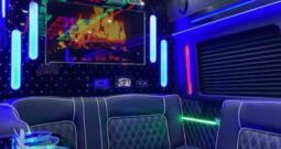 Global Motor Coach Presents this amazing 2020 Ford Transit 14 passenger limo