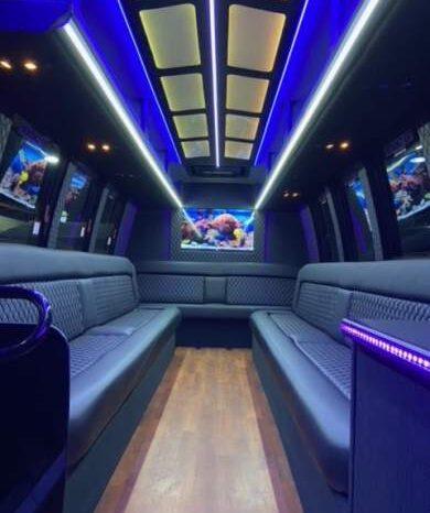 2011 Global Motor Coach Ford E450 Limo Bus full