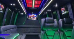 Global Motor Coach Presents this 2014 Ford E450 Limo Bus