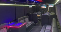 Global Motor Coach presents this 2012  Freightliner Limo Bus 32 Pax